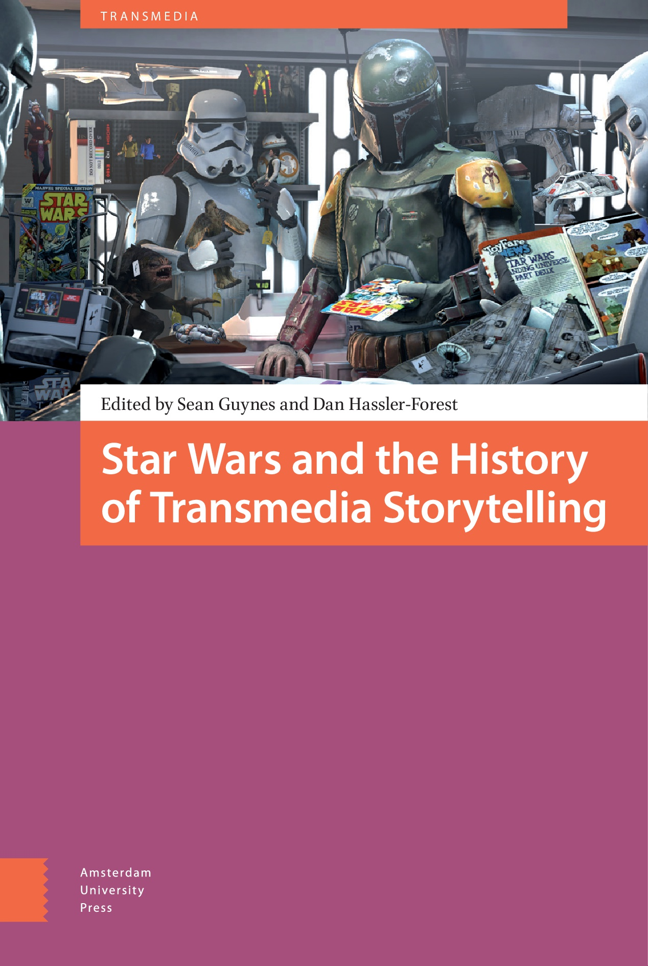 Transmedia Character Building - Textual Crossovers in the Star Wars Universe
