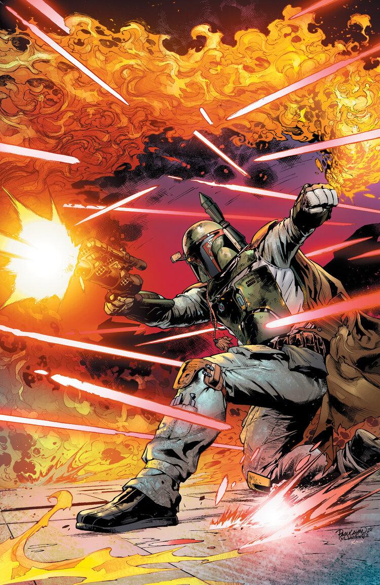 Star Wars: War of the Bounty Hunters 1 - Scorpion Comics Virgin Variant