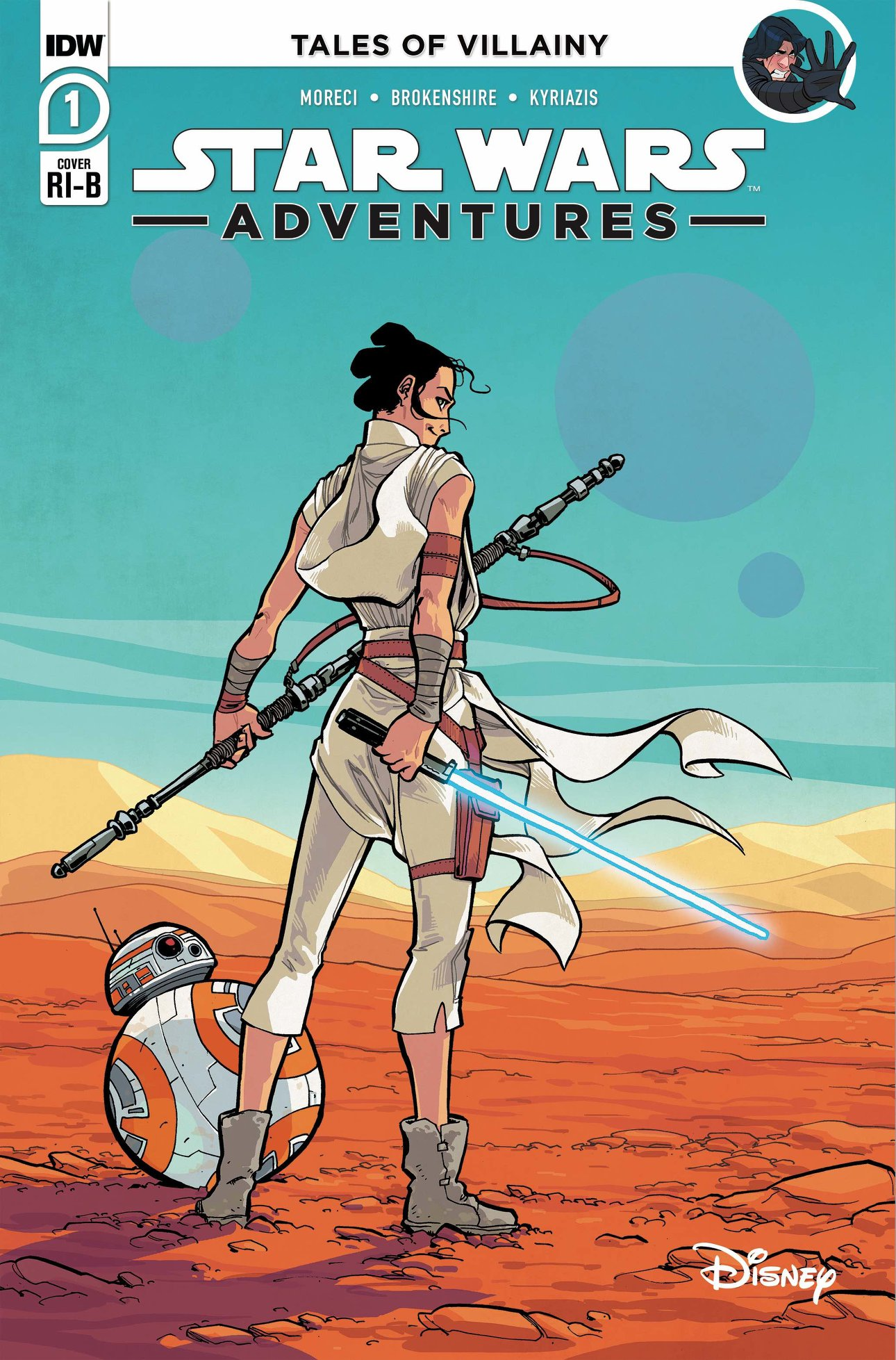 Star Wars Adventures 1 (IDW 2020) - Cover B Brokenshire