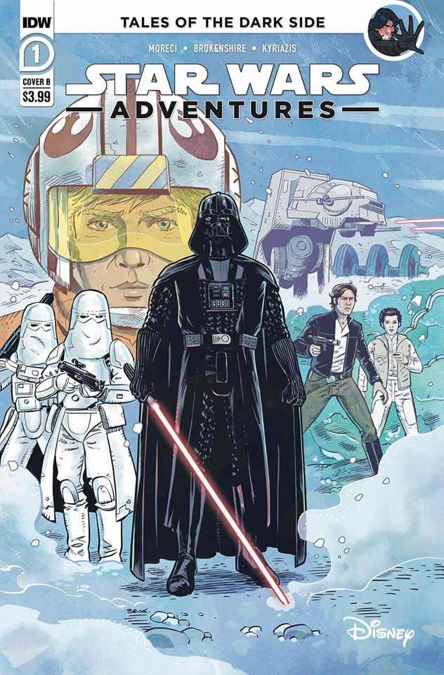 Star Wars Adventures 1 (IDW 2020) - RI Cover