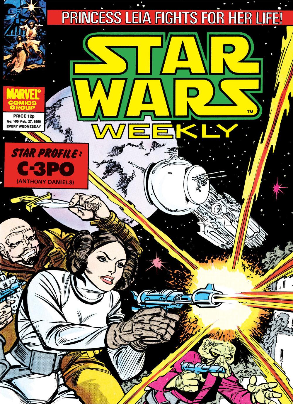 Star Wars Weekly 105