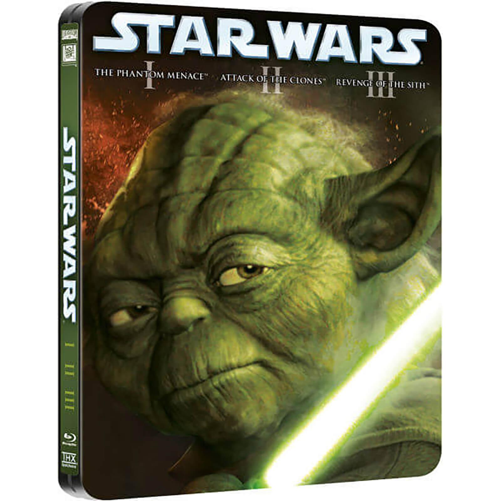 Star Wars Prequel Trilogy Limited Edition Steelbook