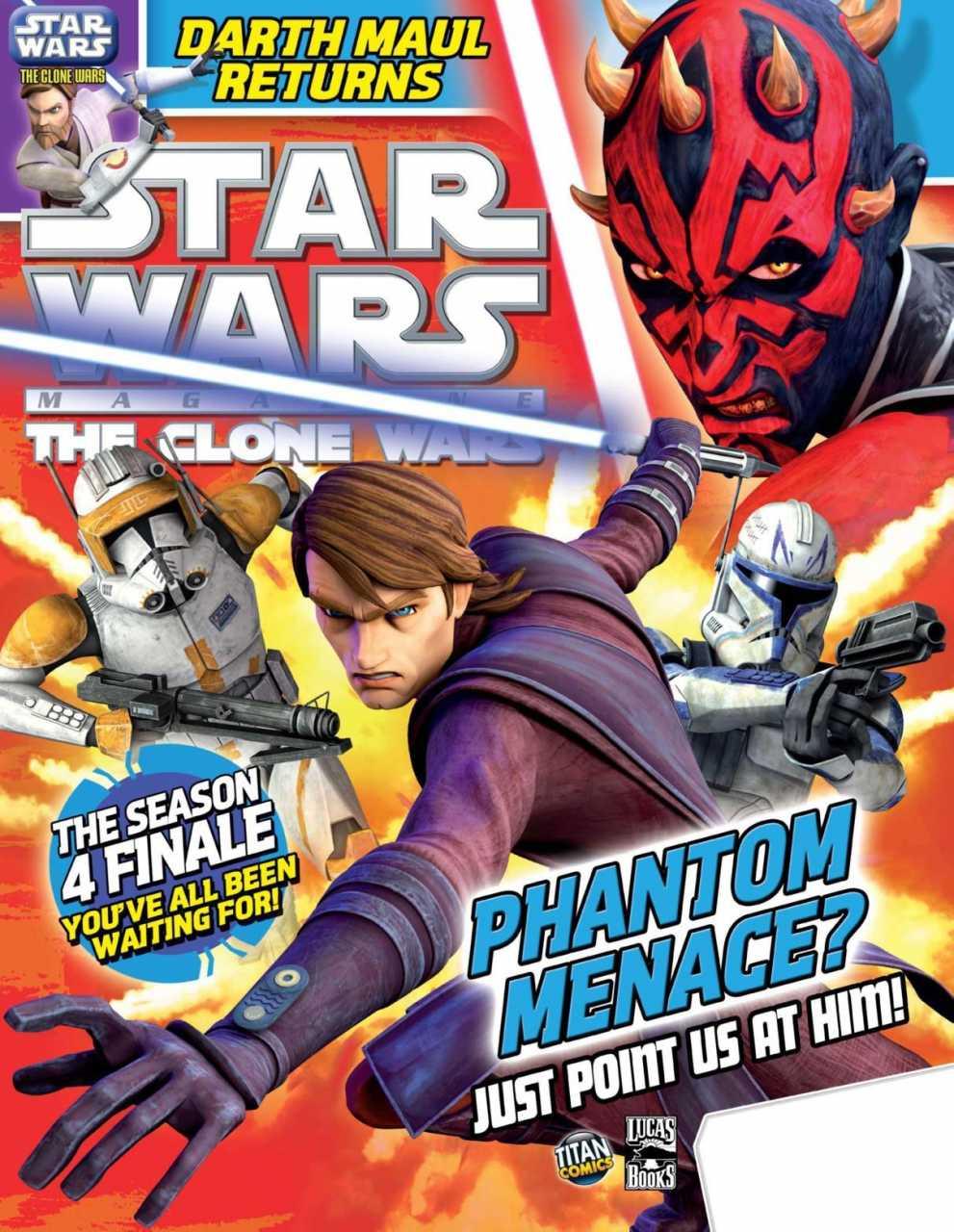 Star Wars The Clone Wars Magazine 10
