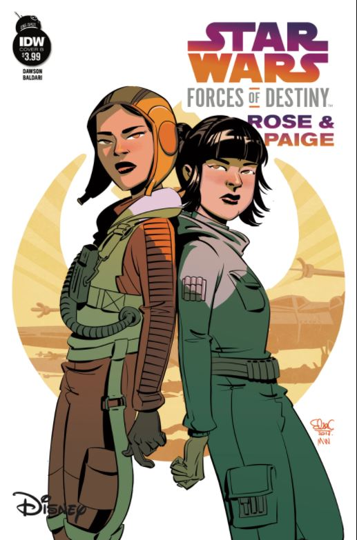 Star Wars Forces of Destiny: Rose & Paige - Cover B (Elsa Charretier)