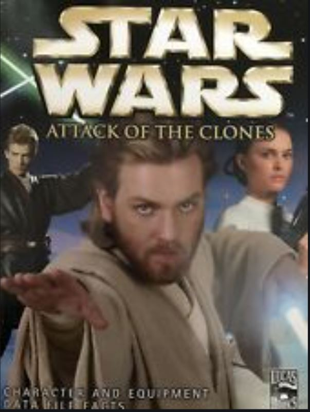 Star Wars: Attack of the Clones - Character and Equipment Data File and Facts
