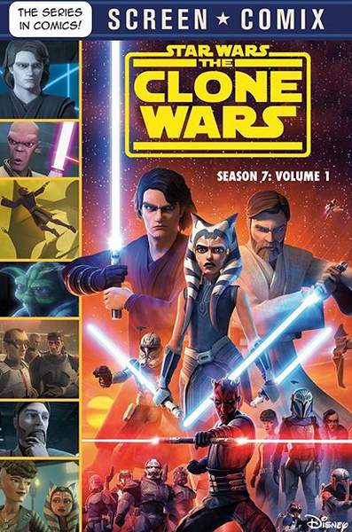 Star Wars: The Clone Wars Season 7 (Screen Comix)
