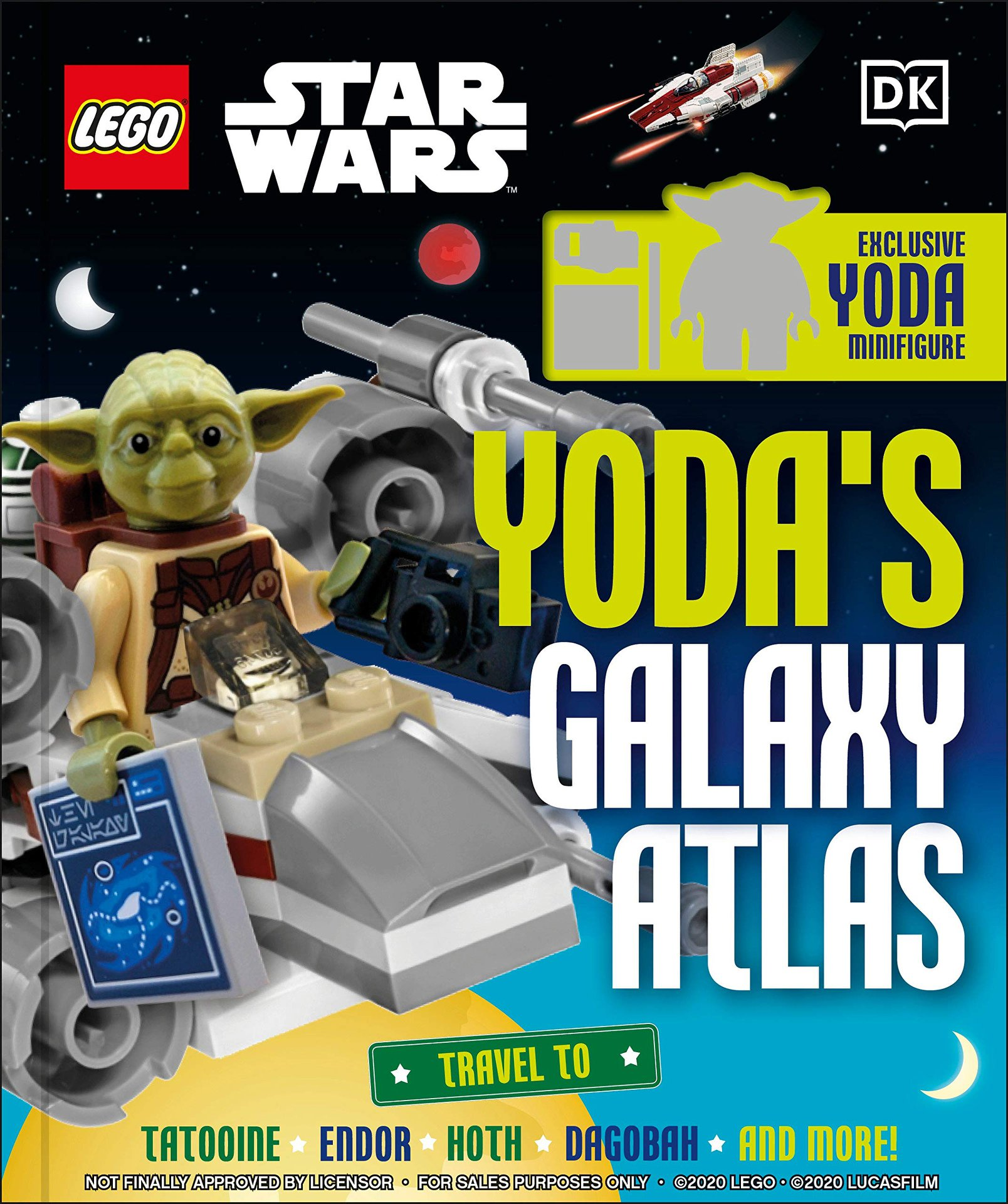 Lego Star Wars: Yoda's Galaxy Atlas