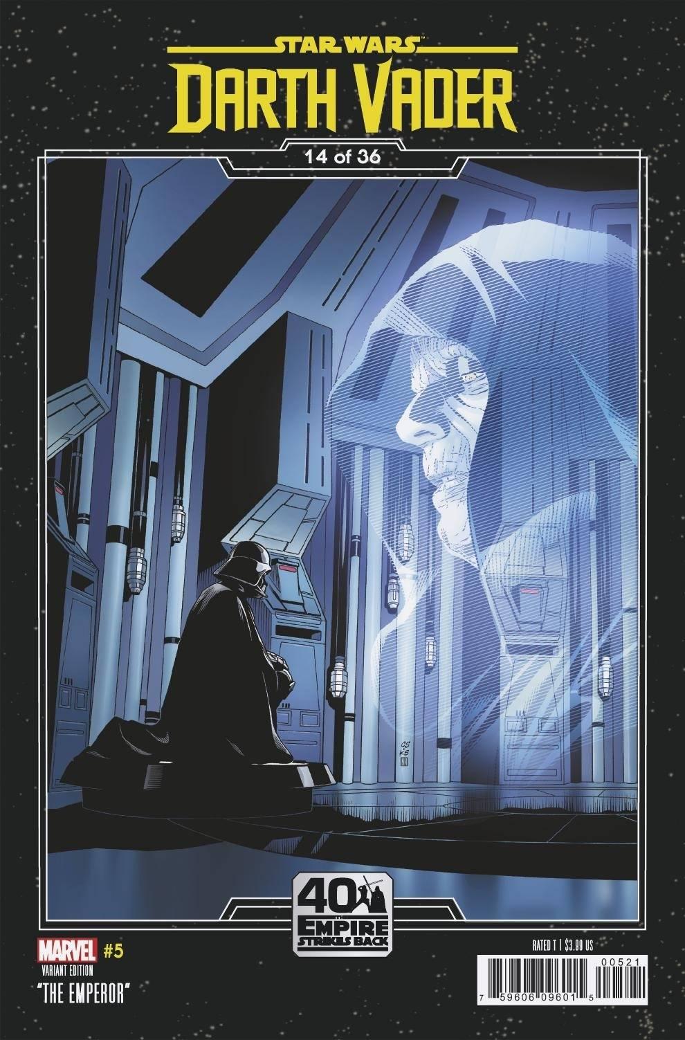 Star Wars: Darth Vader 5 (2020) - Sprouse Variant