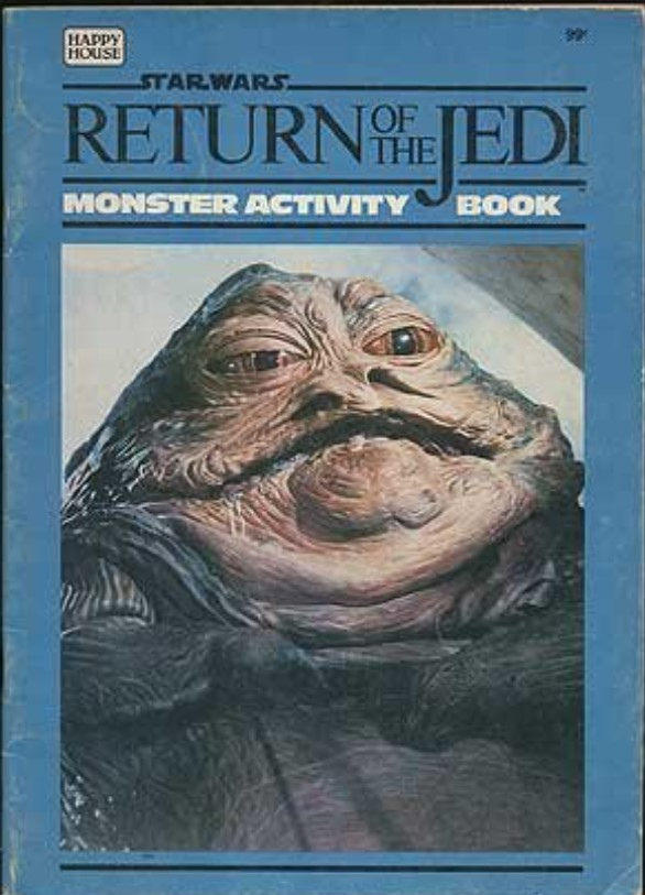Star Wars Return of the Jedi: Monster Activity Book