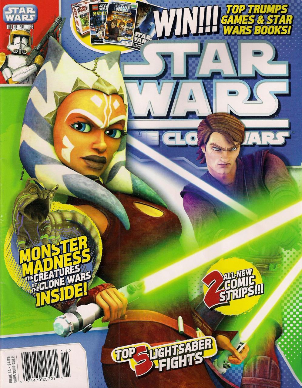 Star Wars The Clone Wars Magazine 11