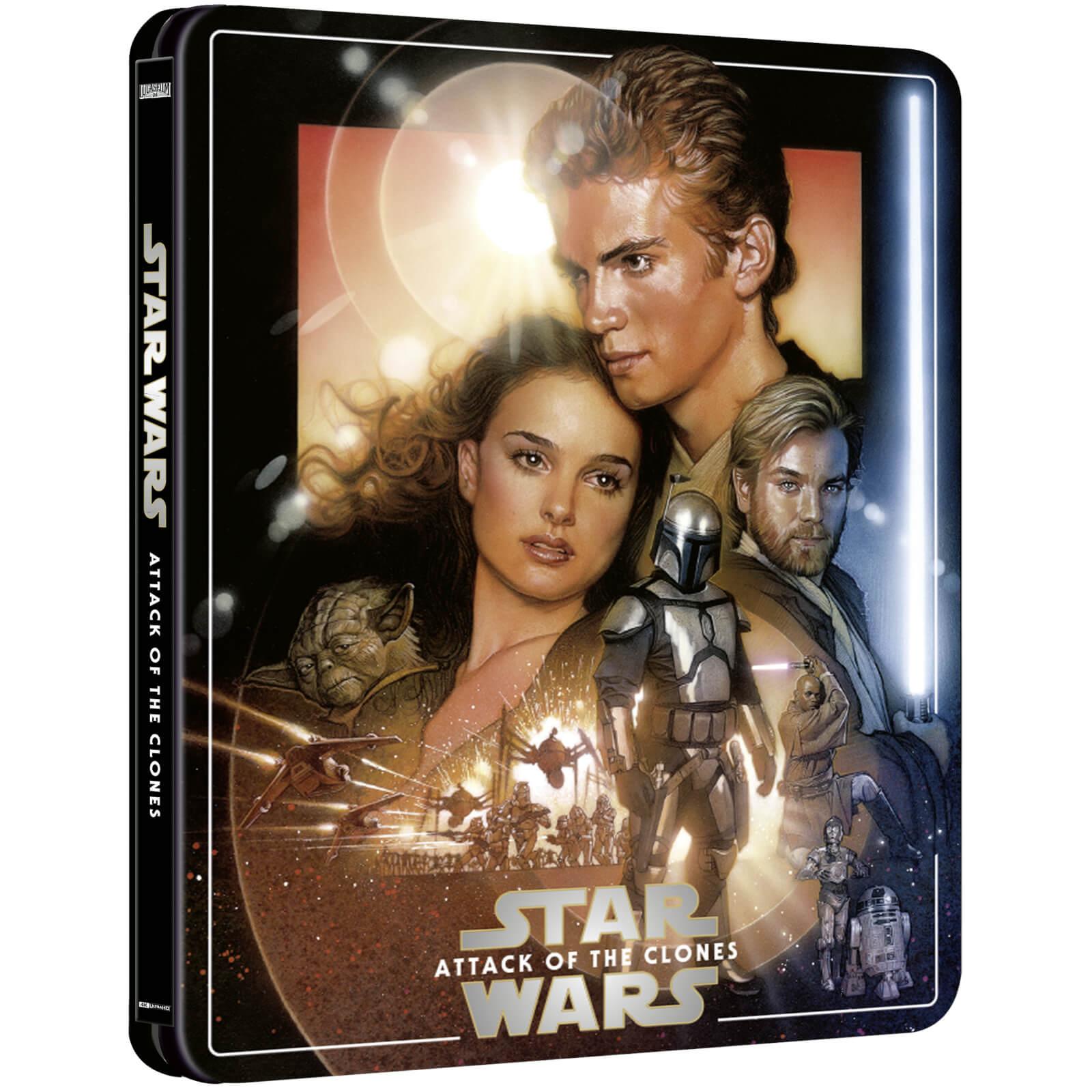 Star Wars: Attack of the Clones (Zavvi Steelbook)