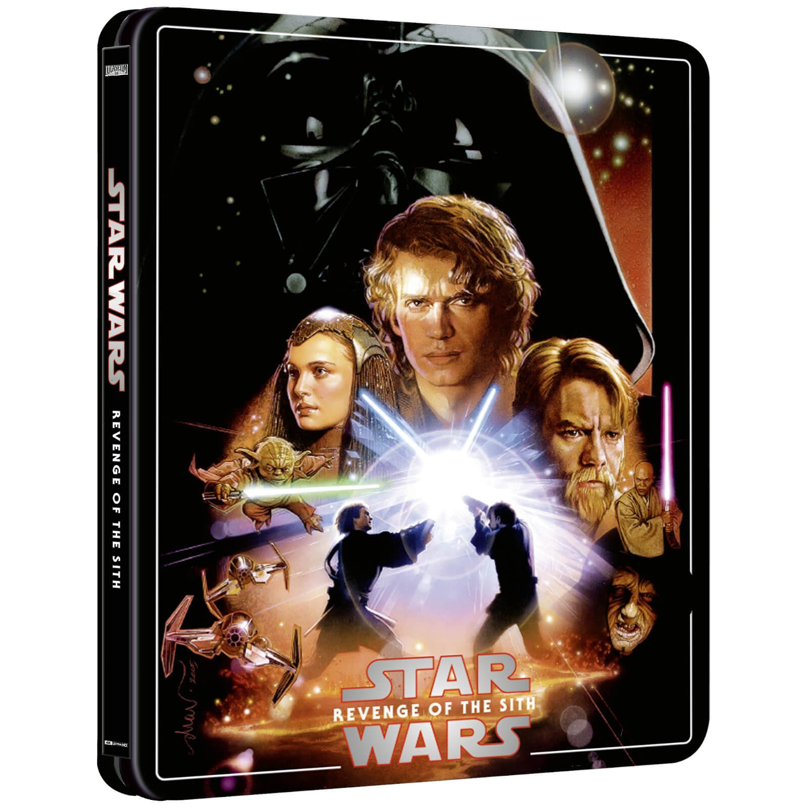 Star Wars: Revenge of the Sith (Zavvi Steelbook)