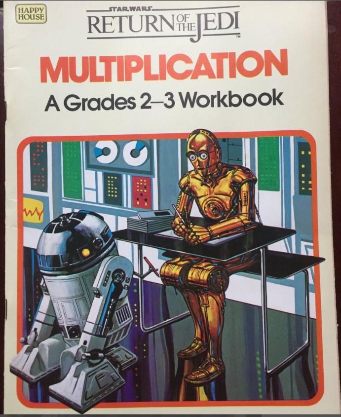 Star Wars Return of the Jedi: Multiplication - A Grades 2-3 Workbook