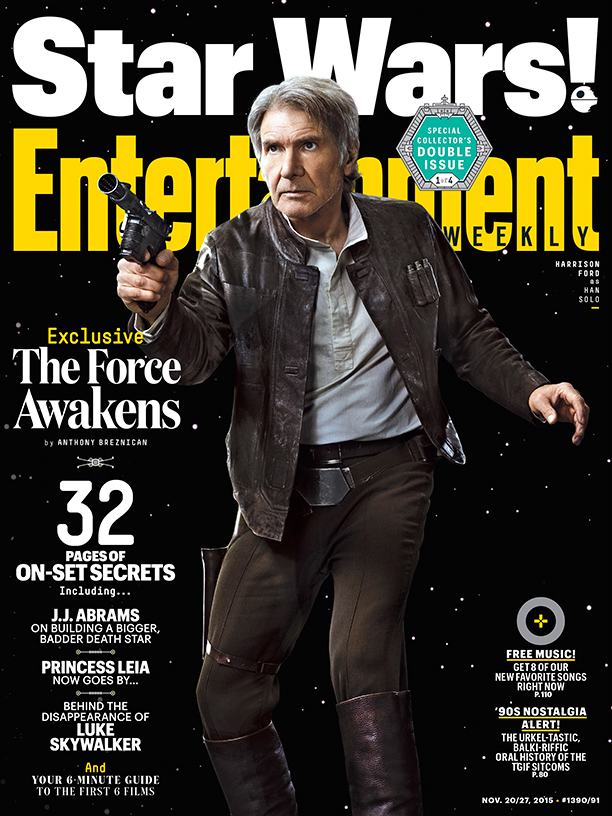 Entertainment Weekly November 27, 2015 (Han Solo Cover)