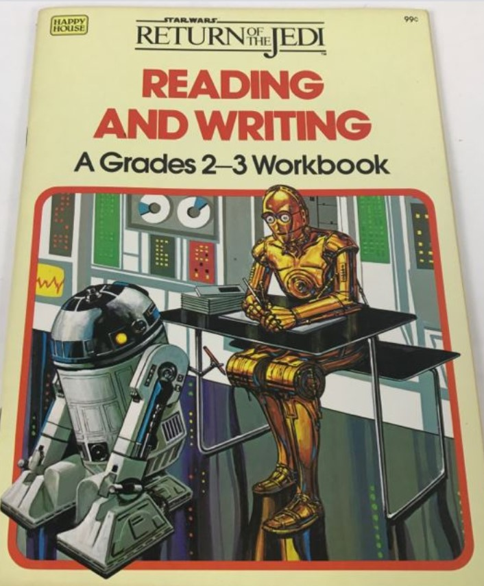 Star Wars Return of the Jedi: Reading and Writing - A Grades 2-3 Workbook