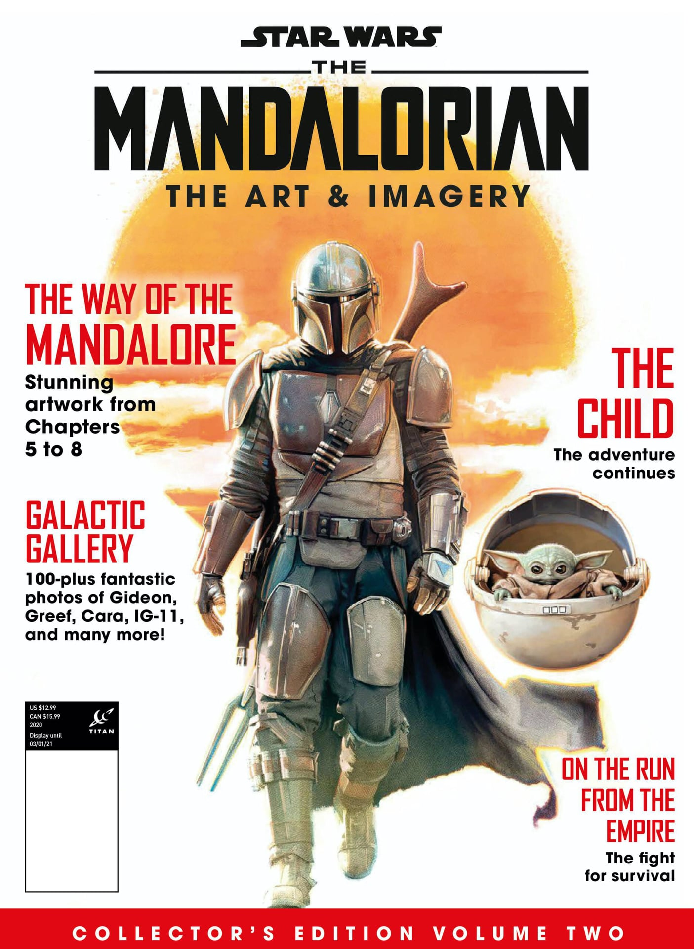 Star Wars The Mandalorian: The Official Collector's Edition Vol. 2