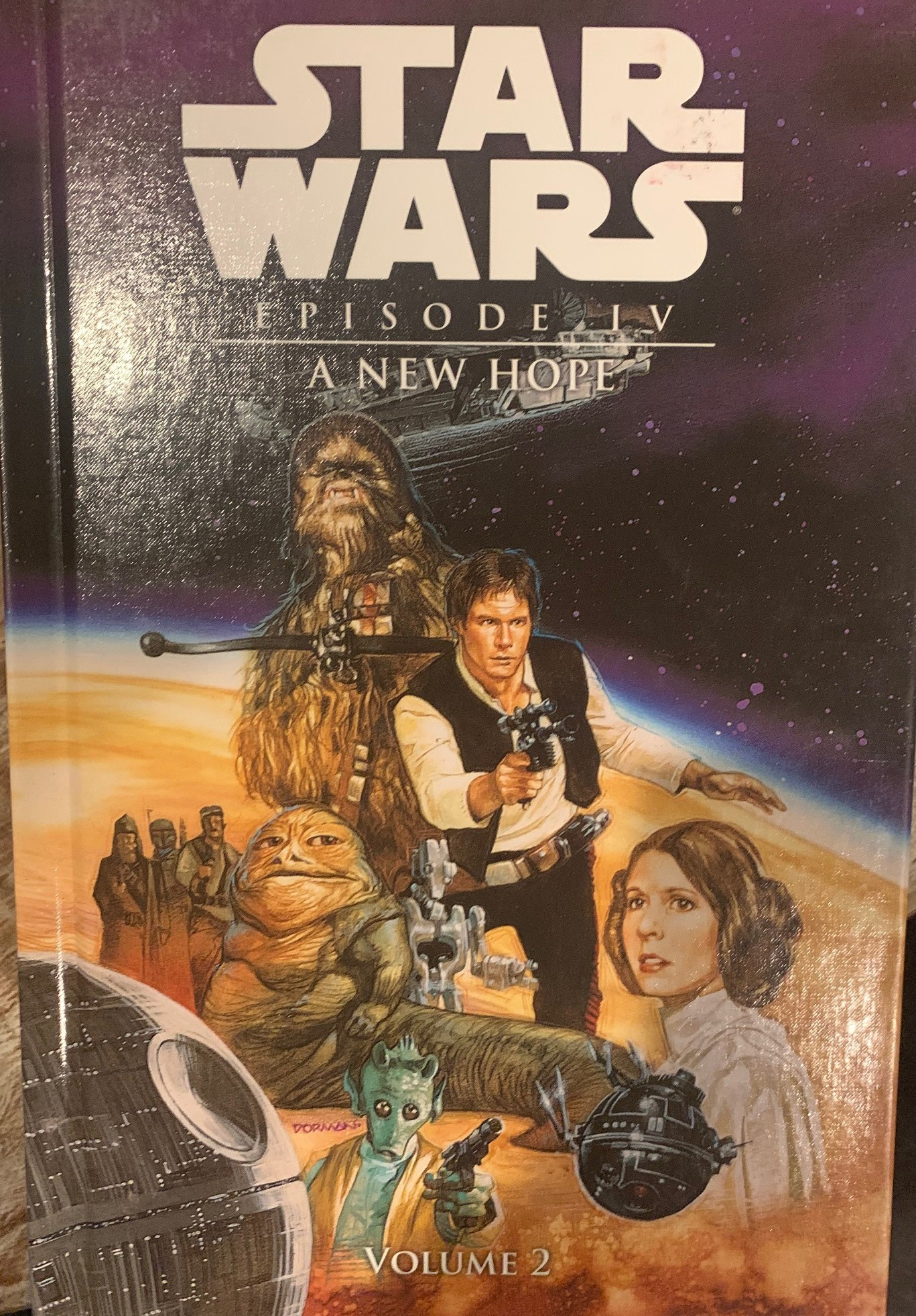 Star Wars Episode IV: A New Hope (Spotlight Comic Edition, Volume 2)