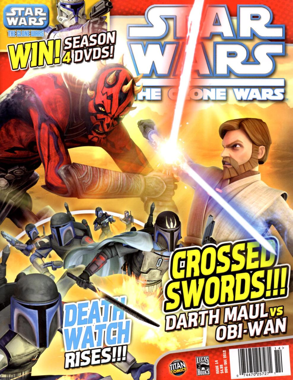 Star Wars The Clone Wars Magazine 14