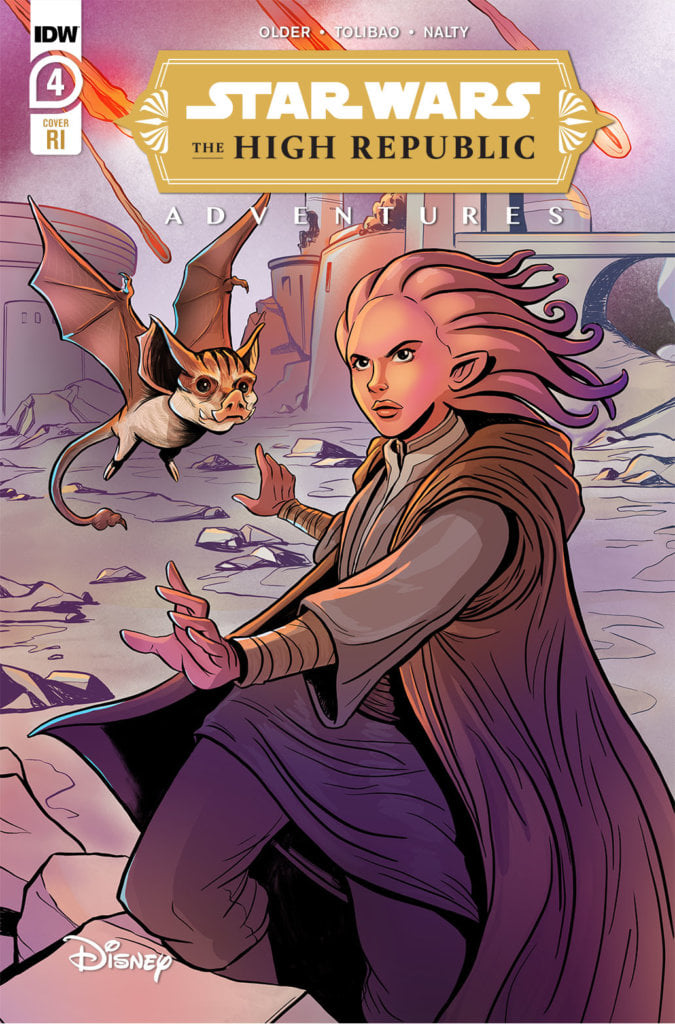 Star Wars: The High Republic Adventures 4 RI Cover