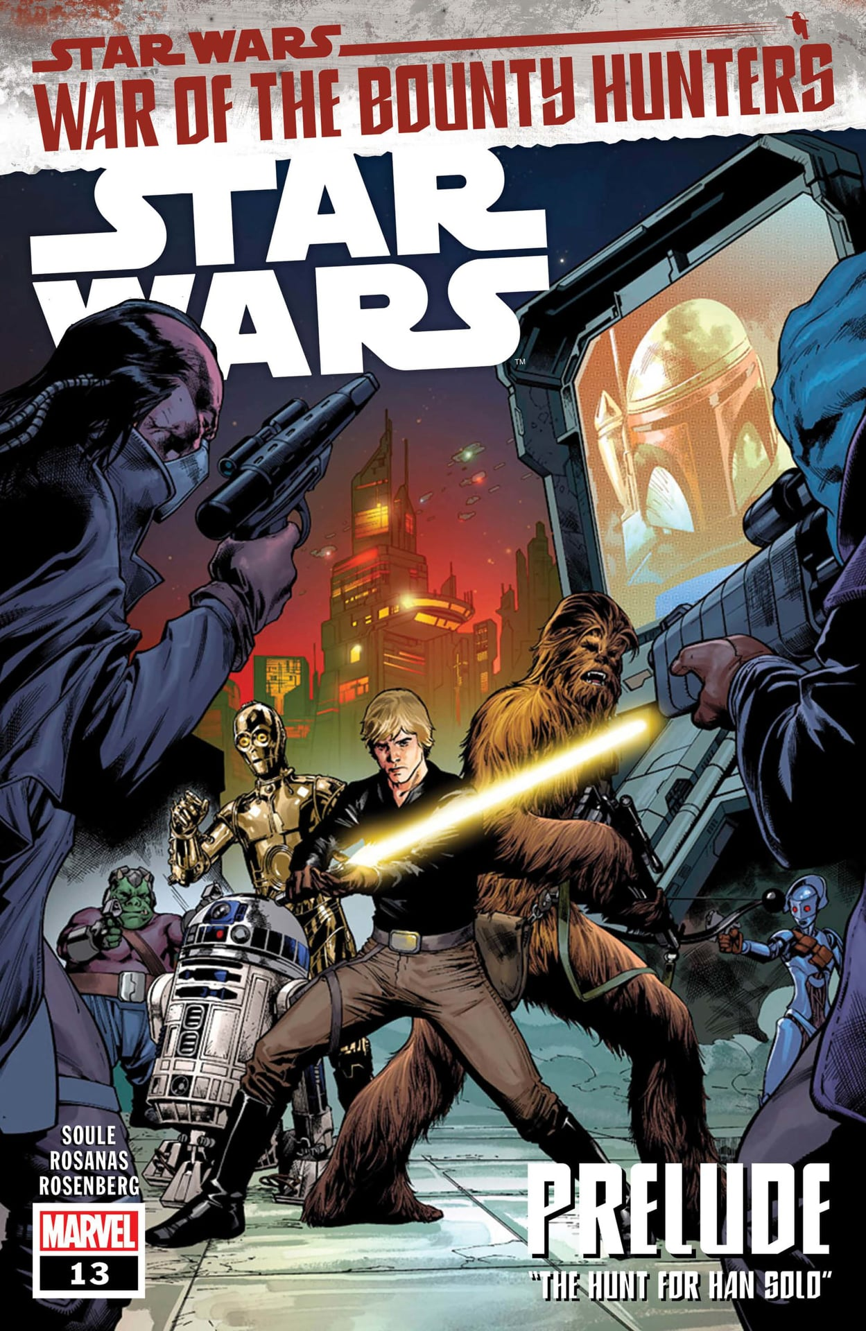 Star Wars War of the Bounty Hunters: Save Solo