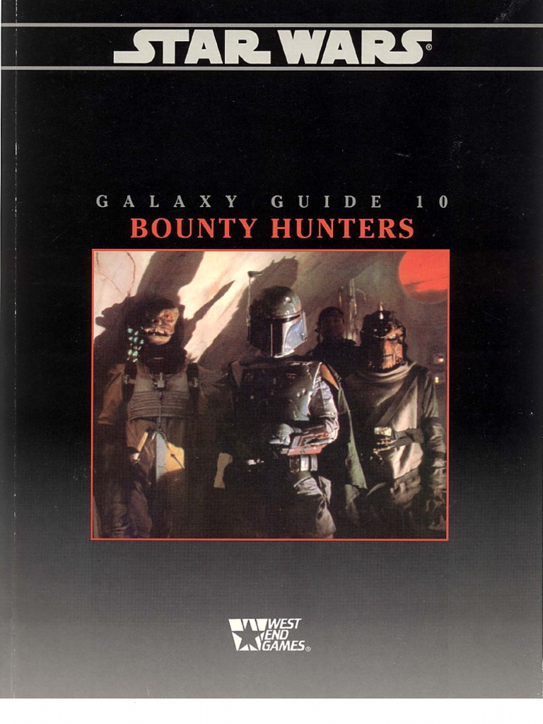Star Wars Galaxy Guide 10: Bounty Hunters