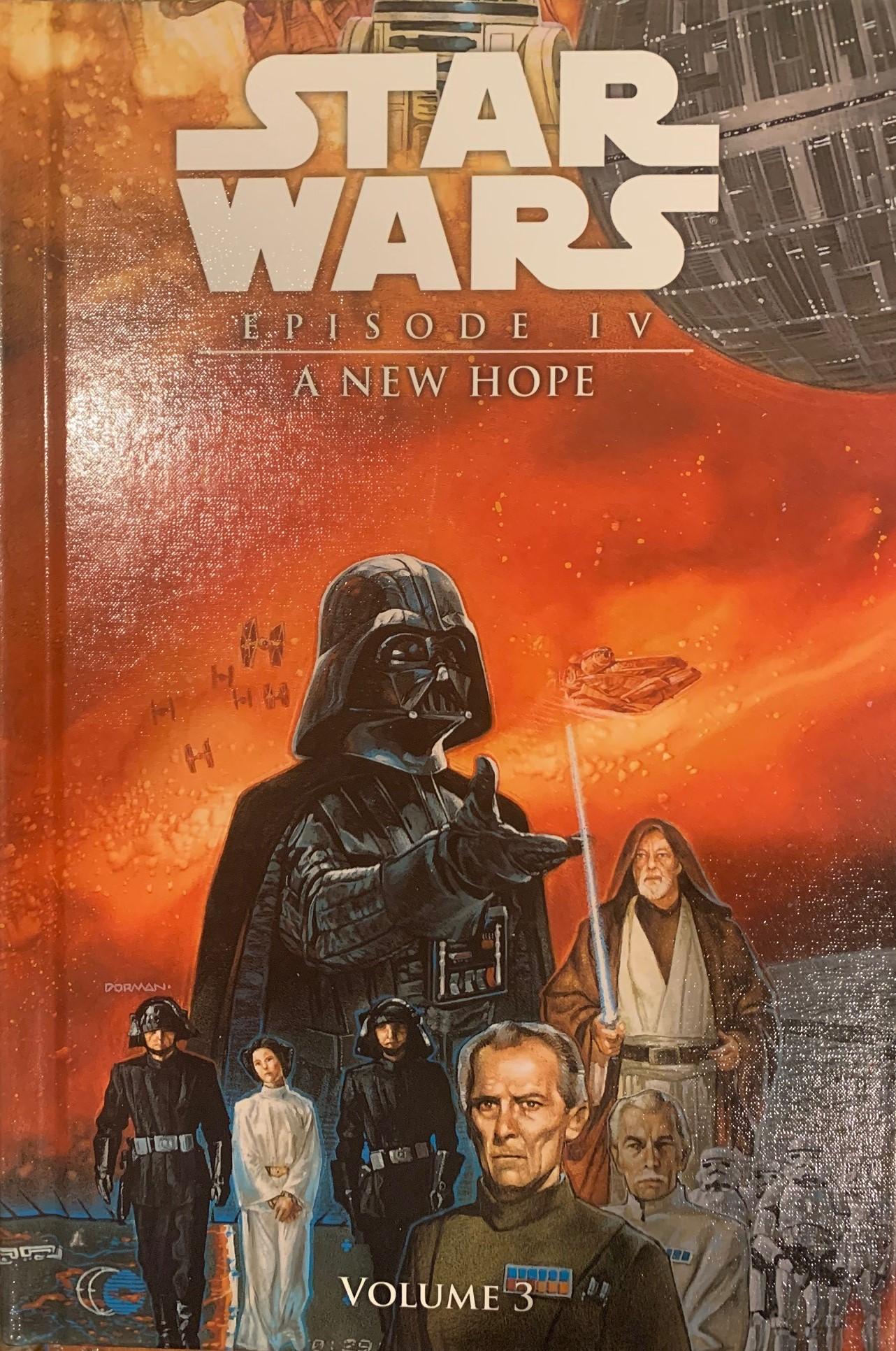 Star Wars Episode IV: A New Hope (Spotlight Comic Edition, Volume 3)