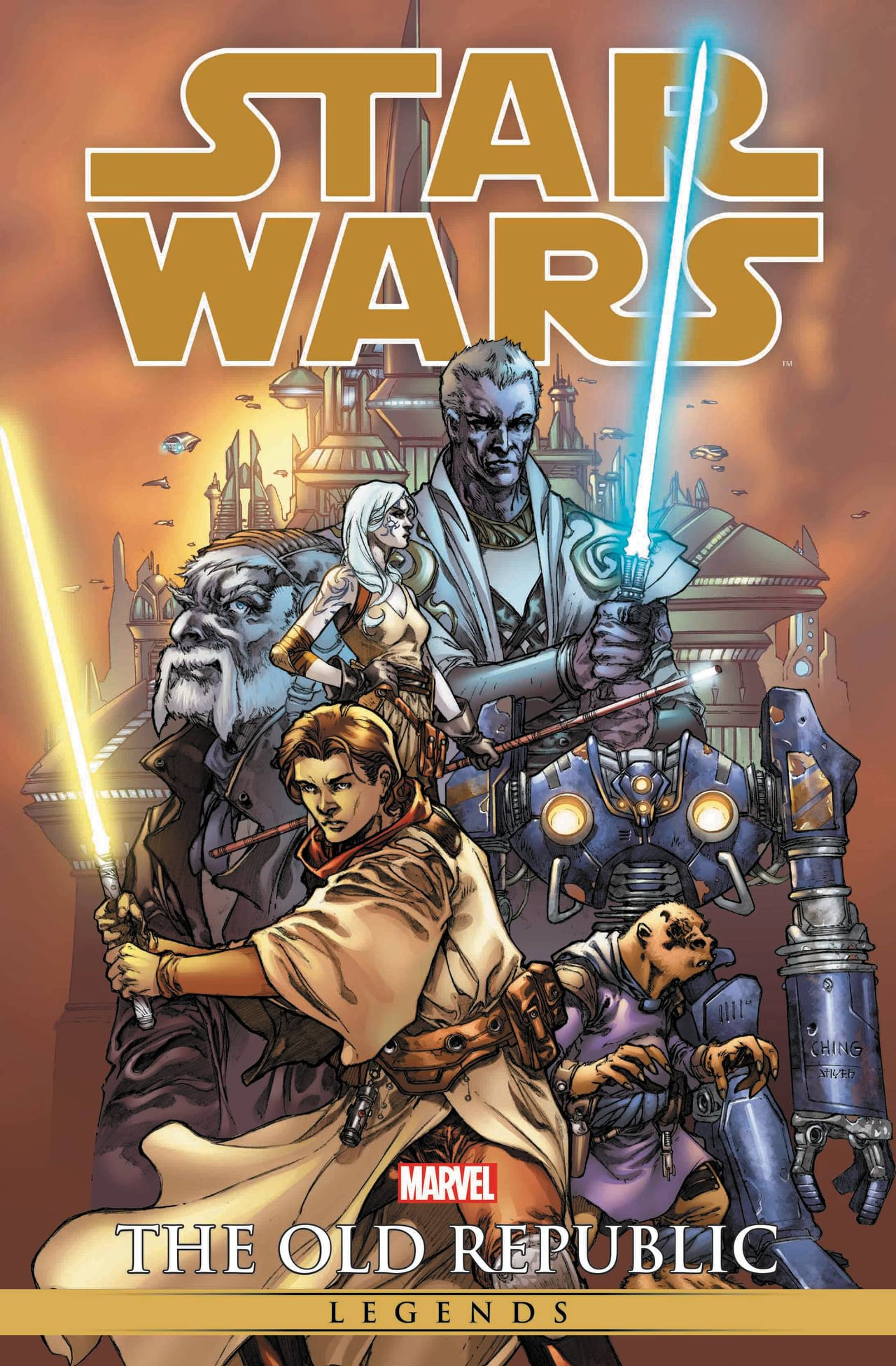 Knights of the Old Republic Omnibus