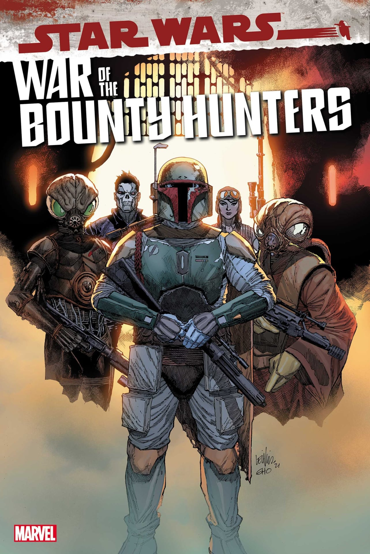 Star Wars: War of the Bounty Hunters 1 - Yu Variant