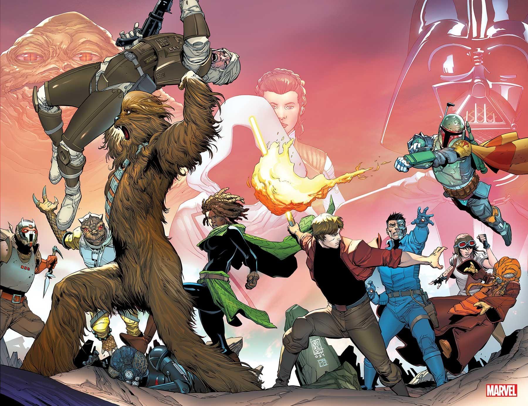 Star Wars: War of the Bounty Hunters 1 - Camuncoli Variant