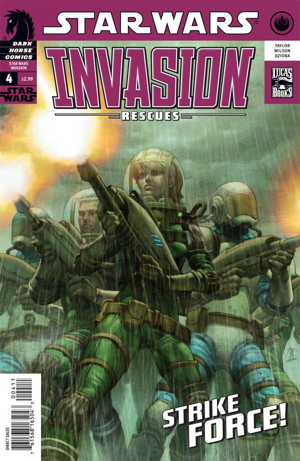 Star Wars Invasion: Rescues 4