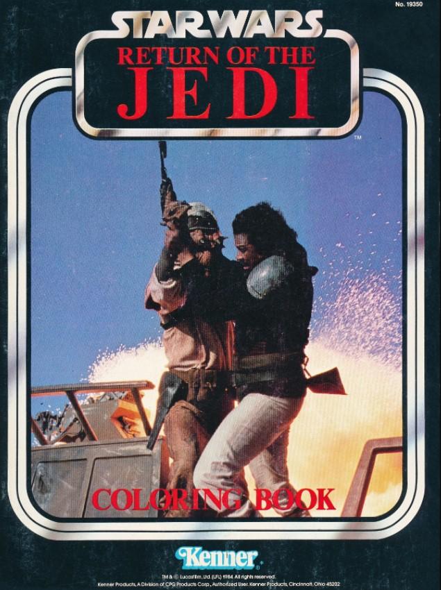 Star Wars: Return of the Jedi Coloring Book (Lando Calrissian)