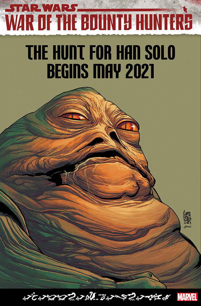 Star Wars War of the Bounty Hunters: Jabba the Hutt - Camuncoli Variant