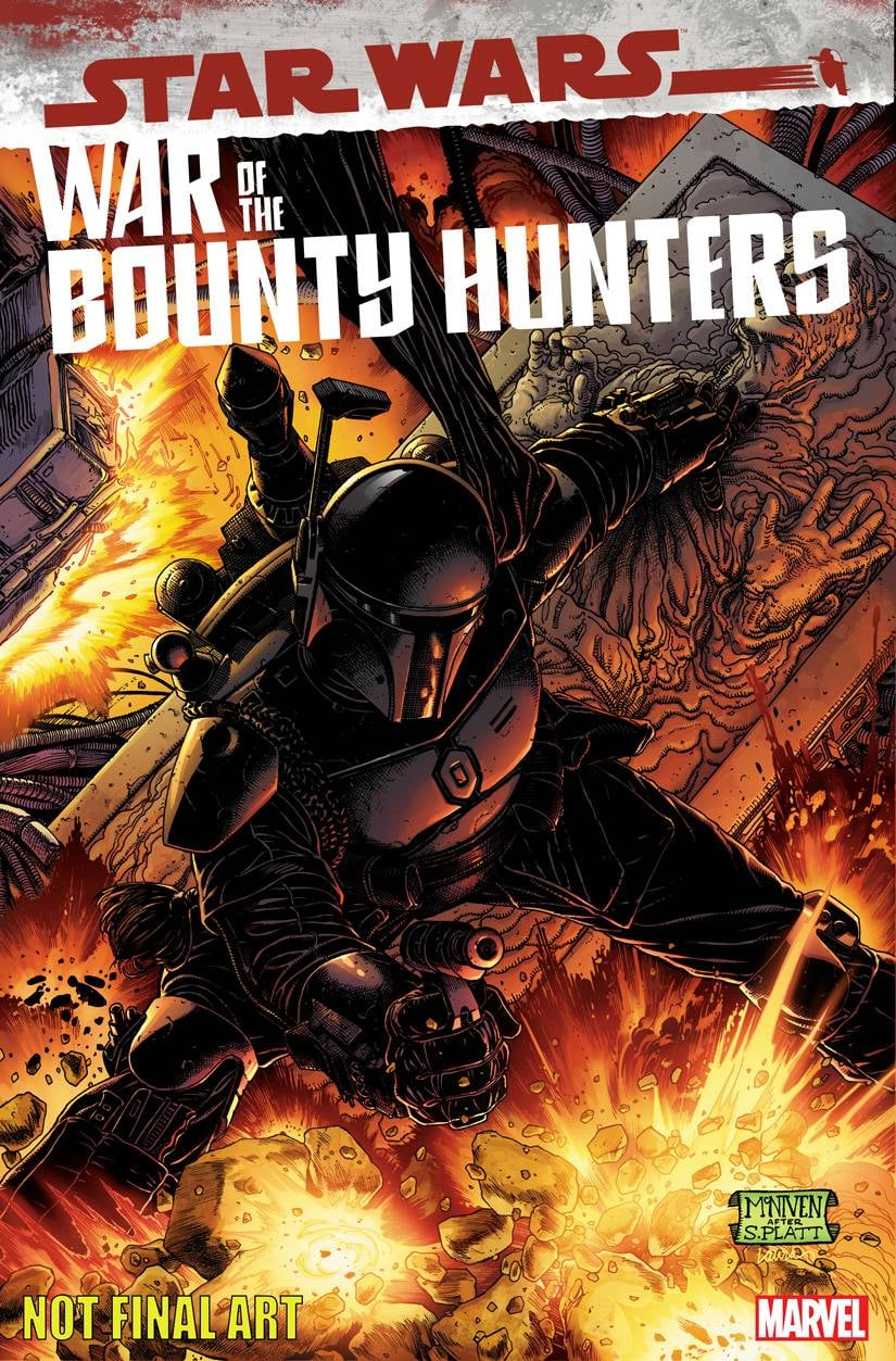 Star Wars: War of the Bounty Hunters Alpha - Black McNiven Variant