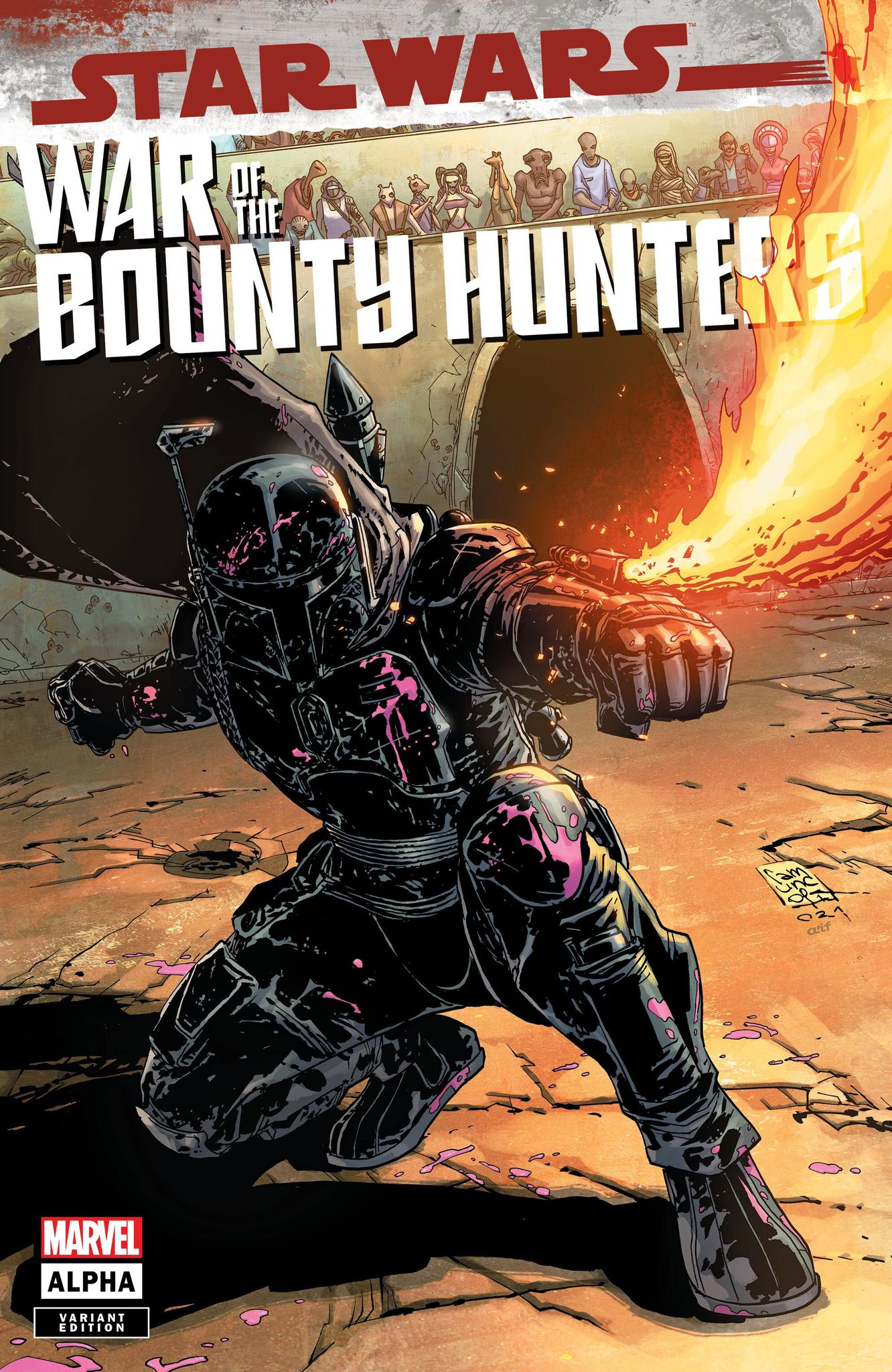 Star Wars: War of the Bounty Hunters Alpha - Comics Elite Variant