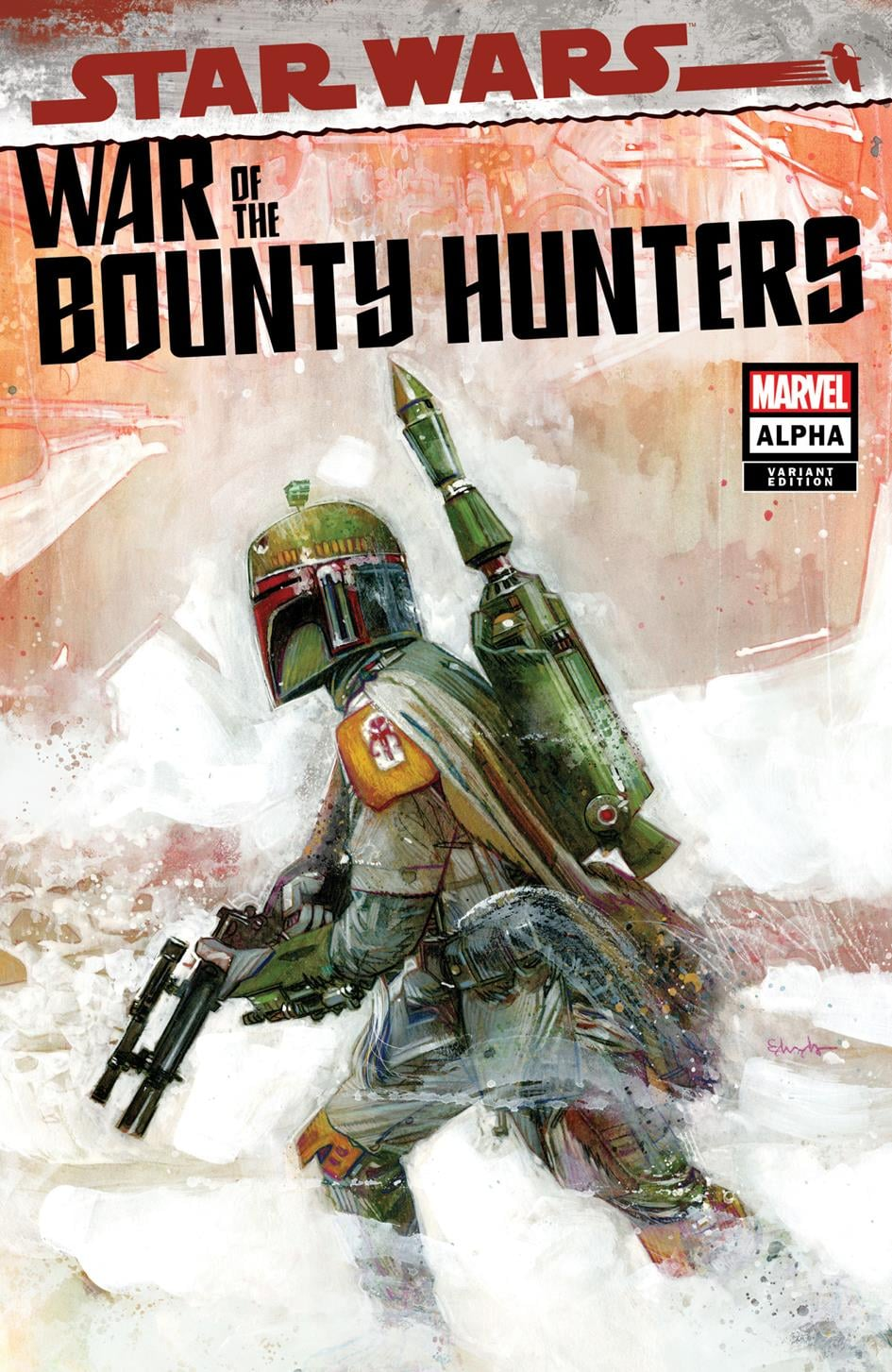 Star Wars: War of the Bounty Hunters Alpha - Ultimate Comics Variant
