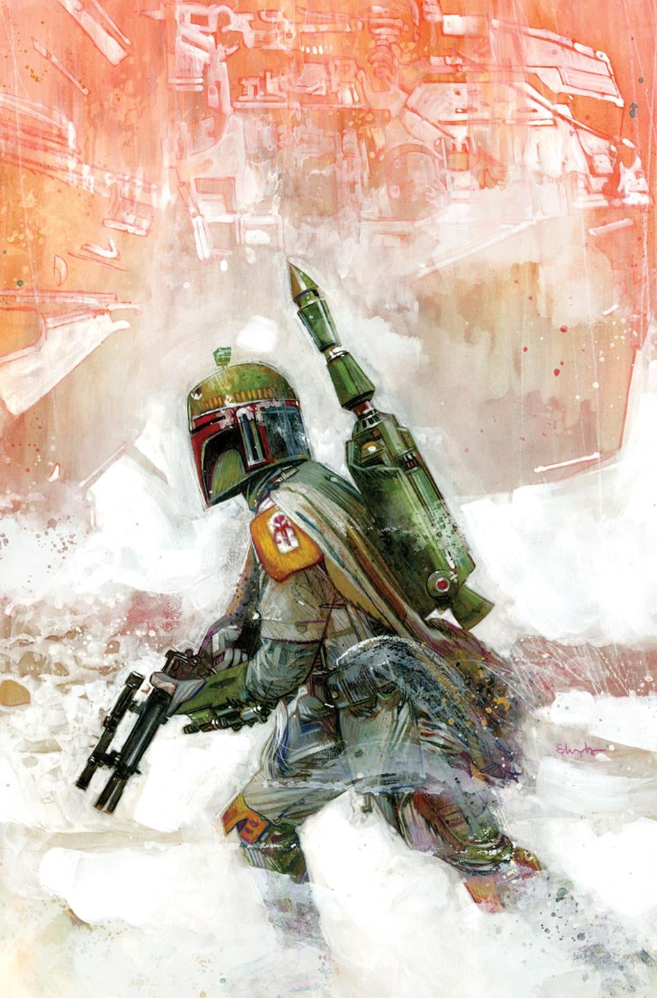 Star Wars: War of the Bounty Hunters Alpha - Ultimate Comics Virgin Variant