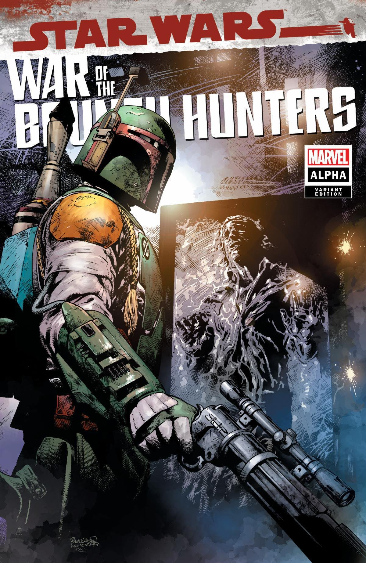 Star Wars: War of the Bounty Hunters Alpha - Devil Dog Comics Variant