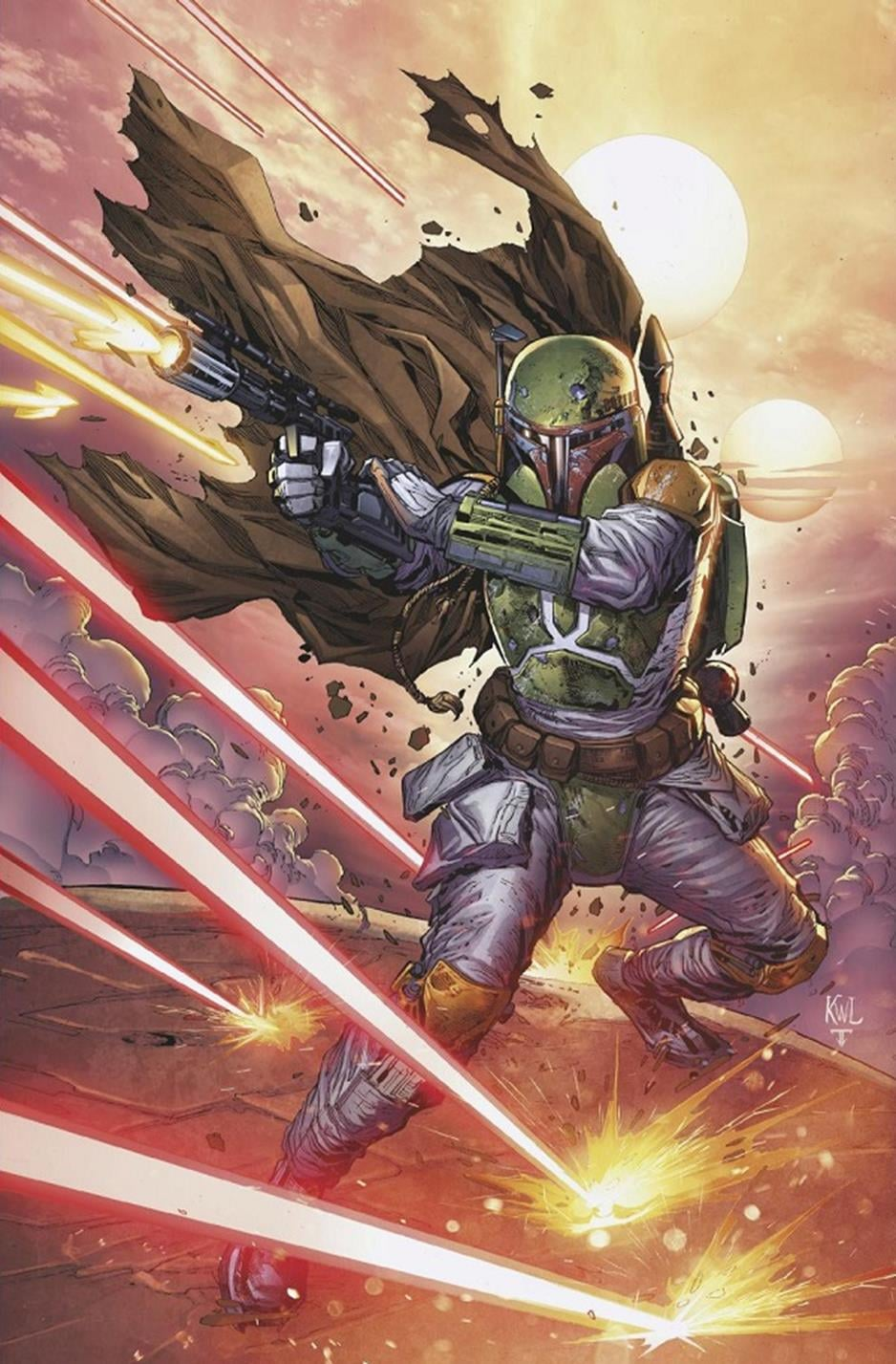 Star Wars: War of the Bounty Hunters Alpha - Gotham Central Comics Virgin Variant