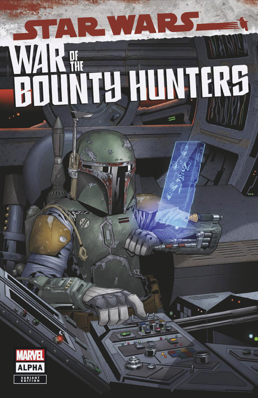 Star Wars: War of the Bounty Hunters Alpha - Jetpack Comics Variant