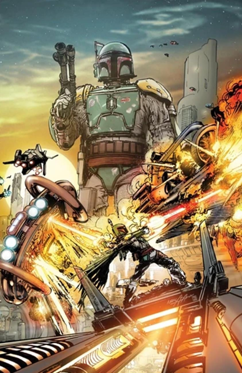 Star Wars: War of the Bounty Hunters Alpha - Elite Comics Virgin Variant