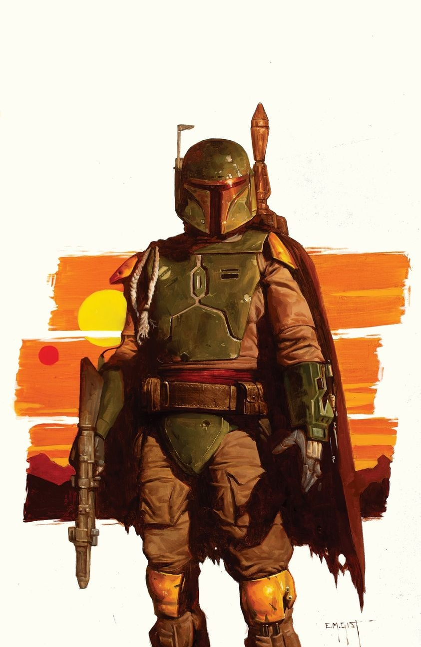 Star Wars: War of the Bounty Hunters Alpha - IG Comics Virgin Variant