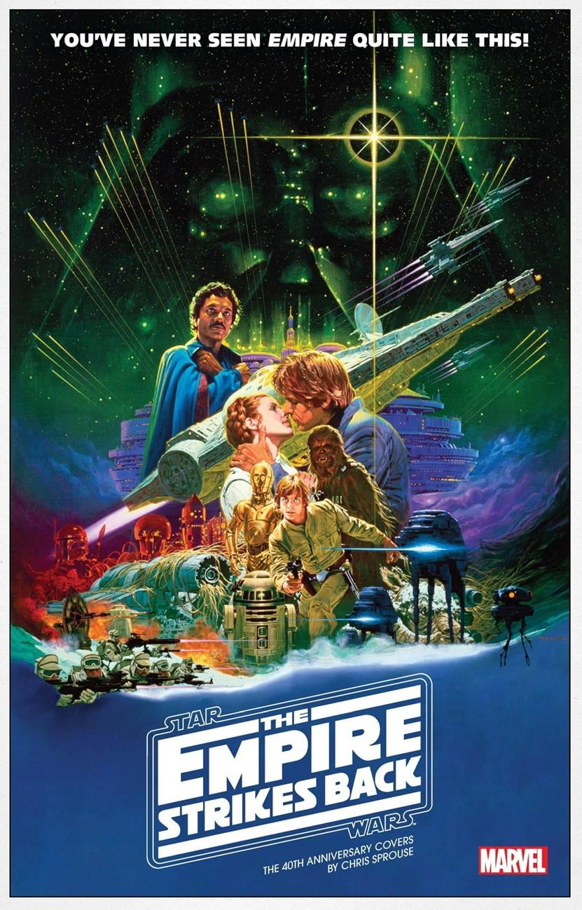 Star Wars The Empire Strikes Back: The 40th Anniversary Covers - Movie Variant