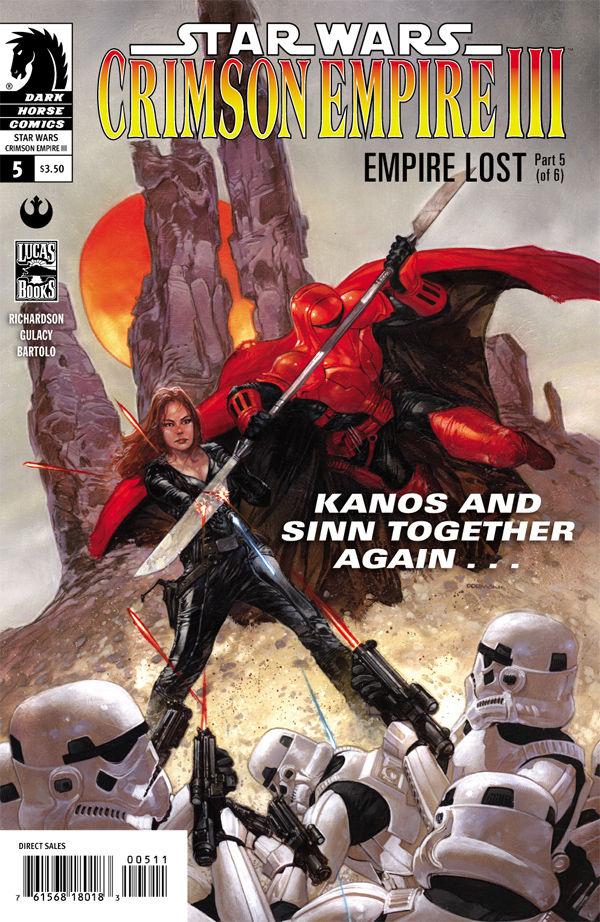 Star Wars Crimson Empire III: Empire Lost 5