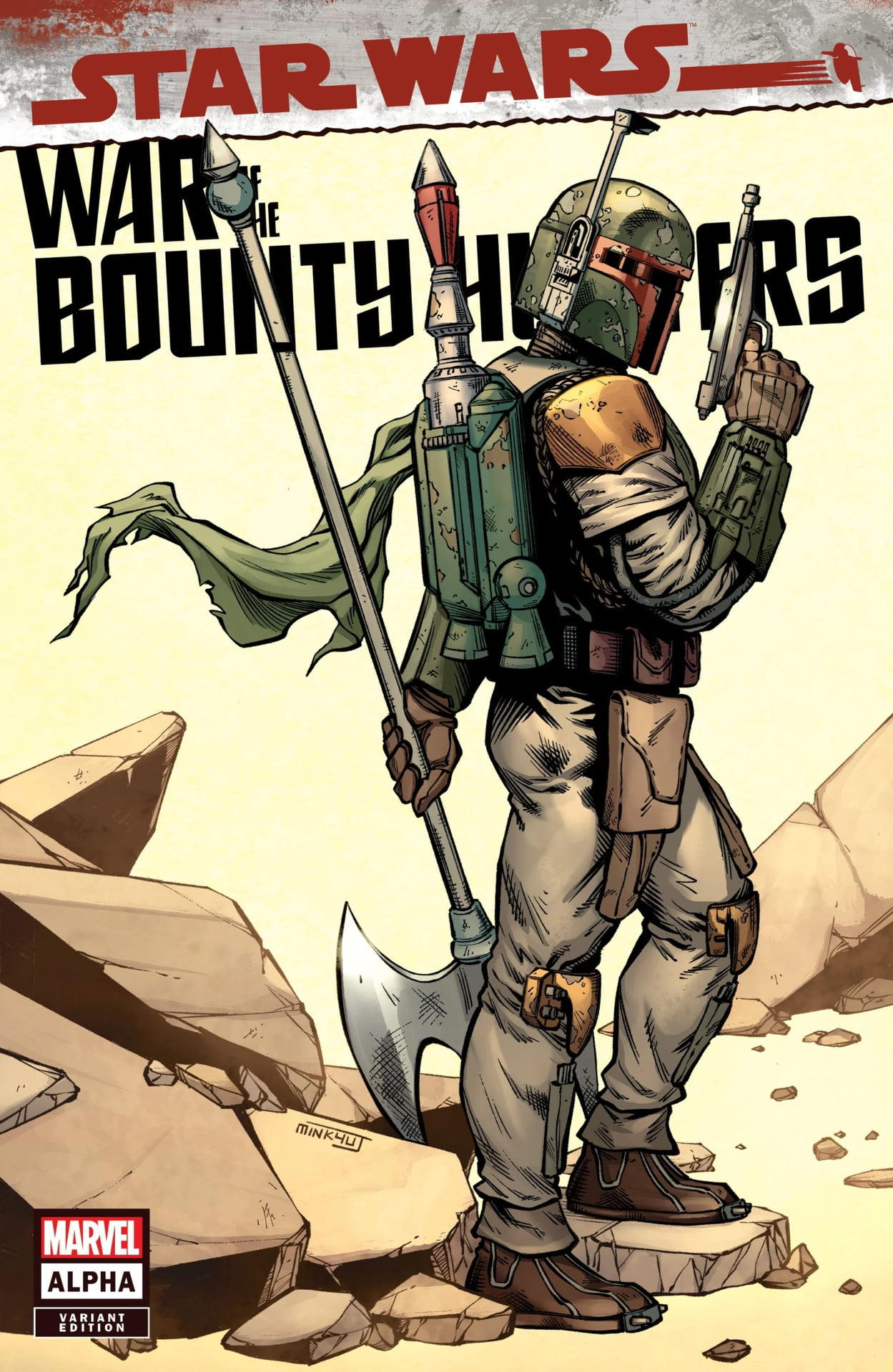 Star Wars: War of the Bounty Hunters Alpha - Comic Kingdom Variant