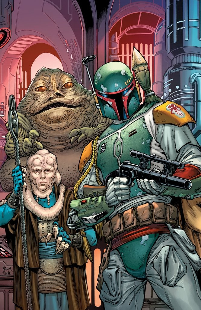 Star Wars: War of the Bounty Hunters Alpha - Comic Kingdom Canada Virgin Variant