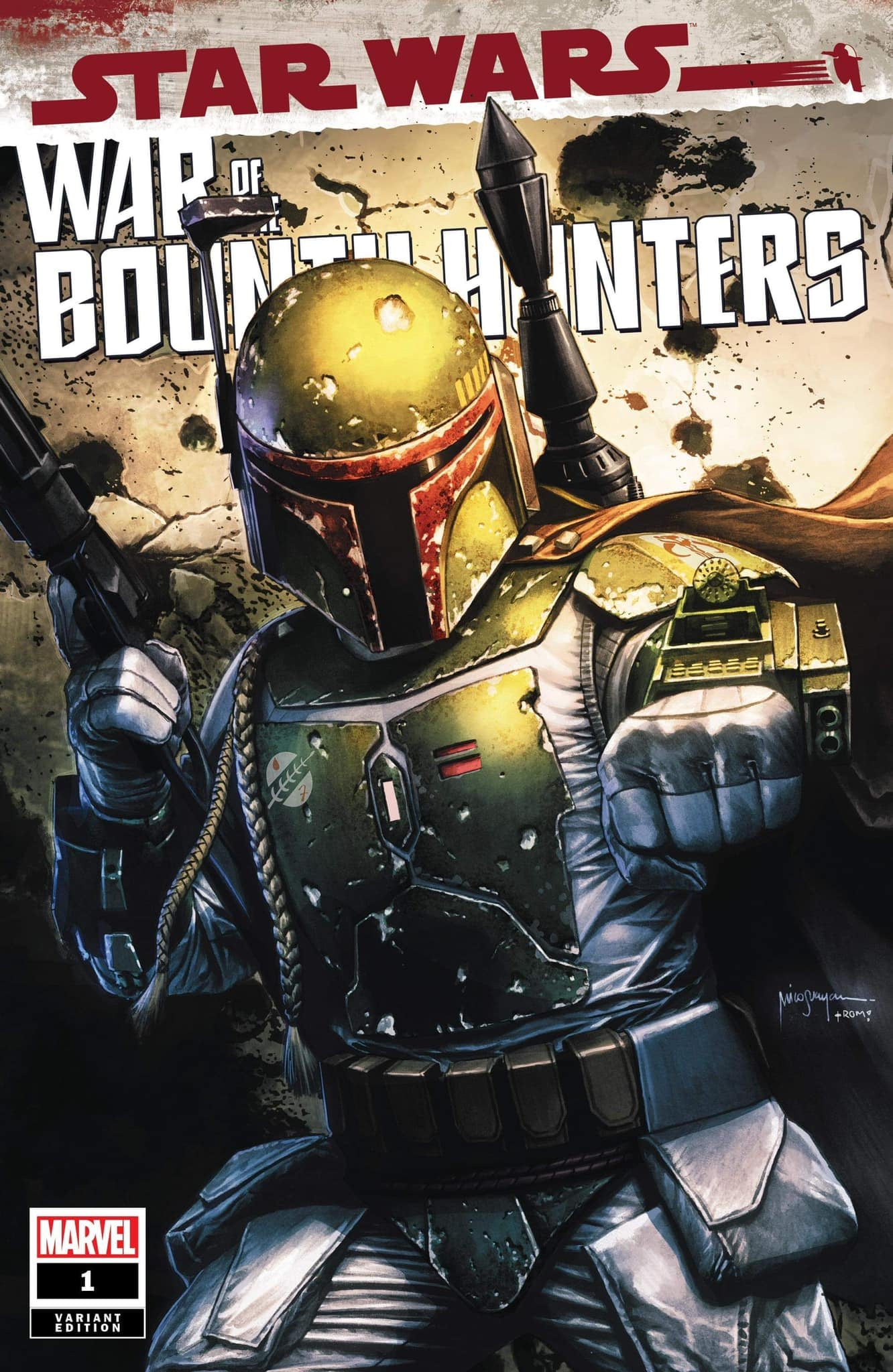Star Wars: War of the Bounty Hunters 1 - Bigtime Collectibles Variant