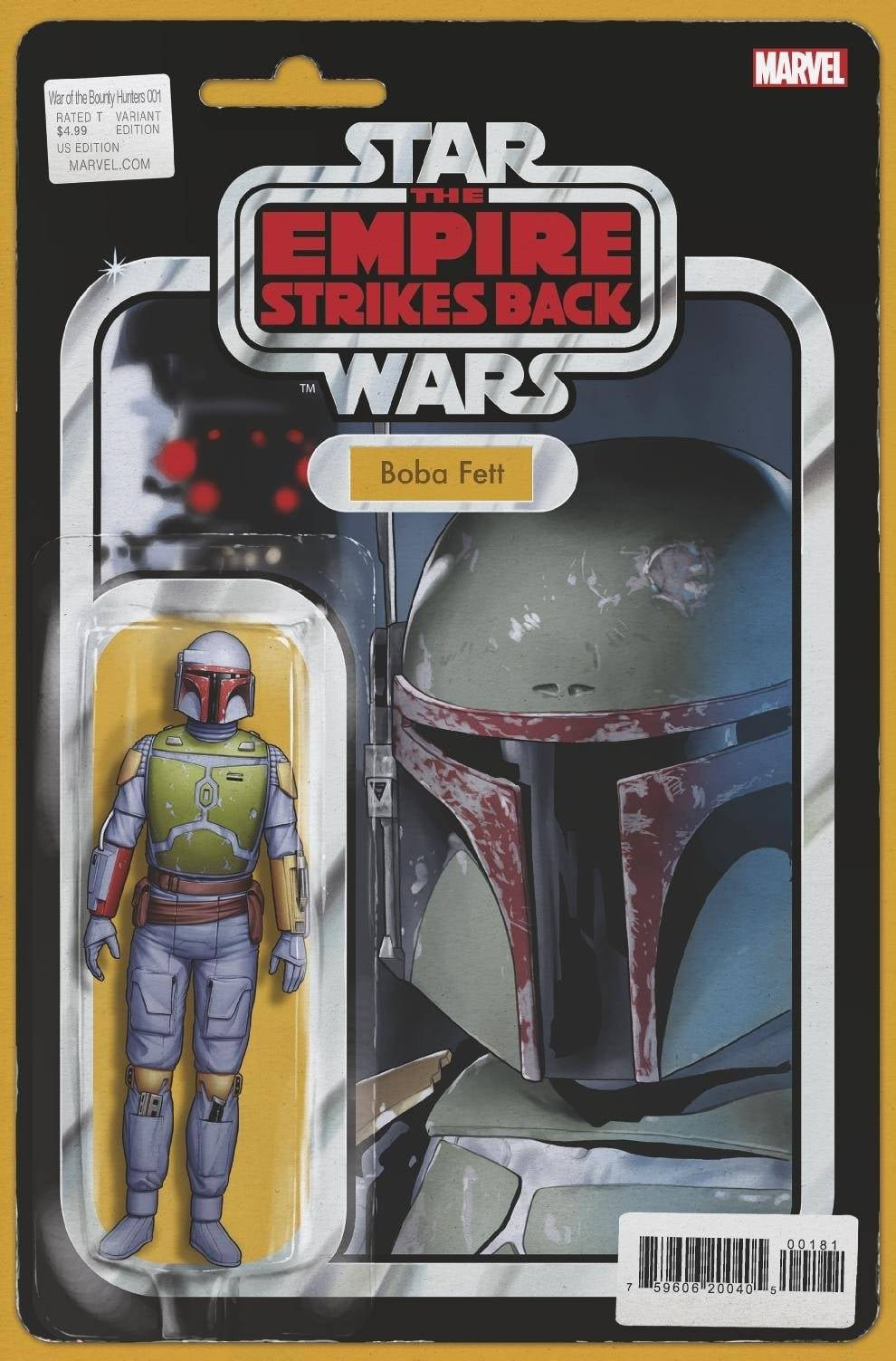 Star Wars: War of the Bounty Hunters 1 - Action Figure Variant