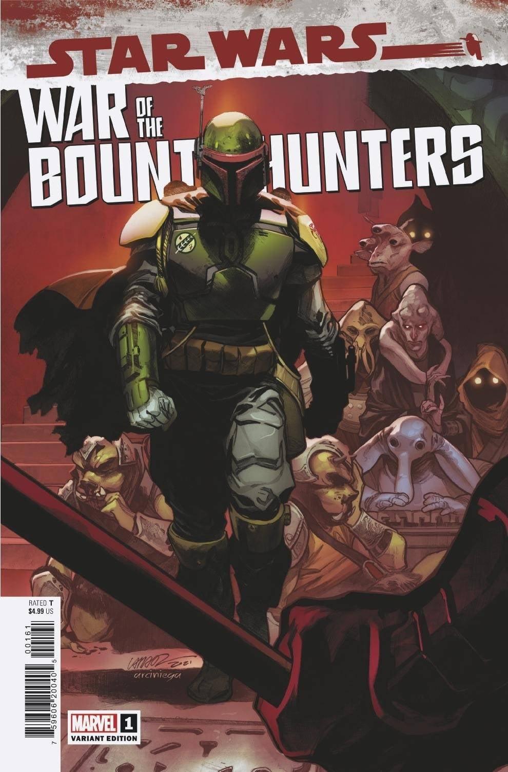 Star Wars: War of the Bounty Hunters 1 - Larraz Variant