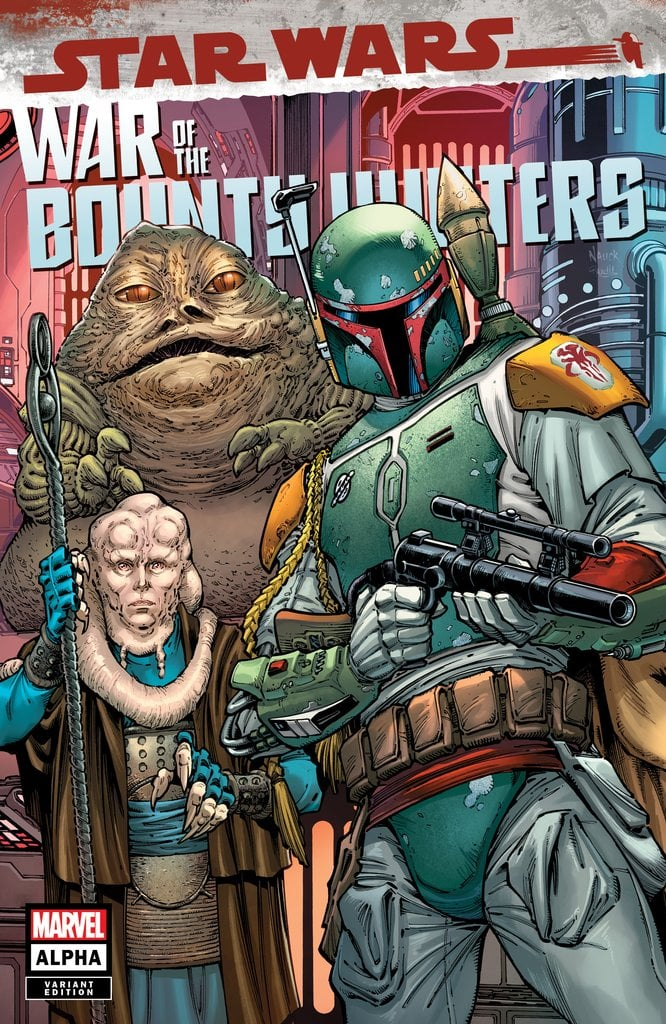 Star Wars: War of the Bounty Hunters Alpha - Comic Kingdom Canada Variant