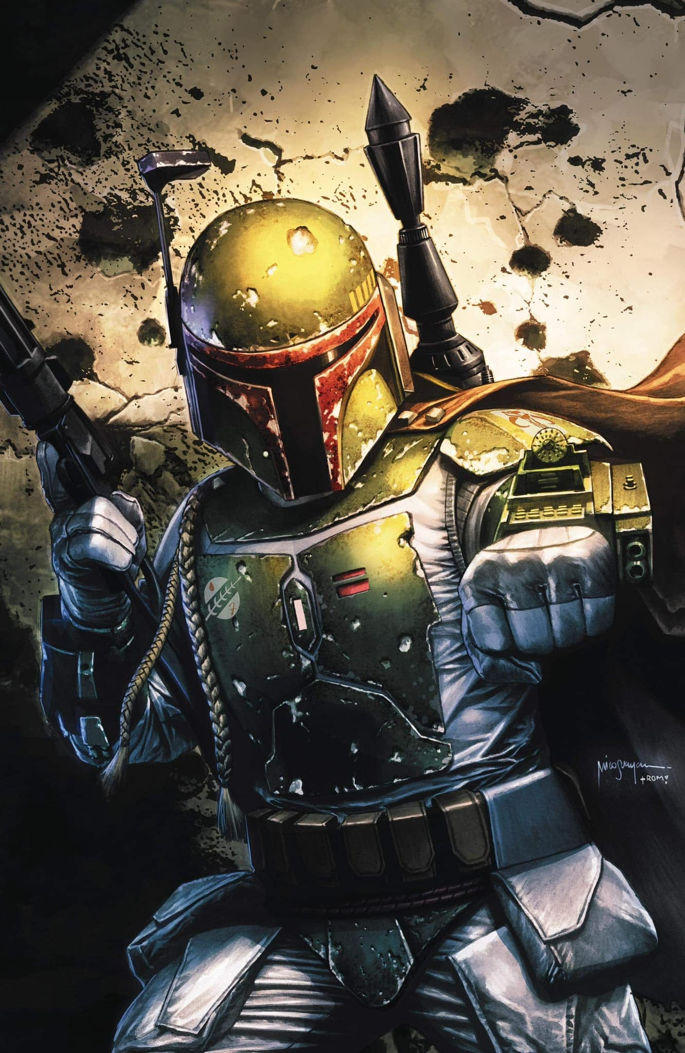 Star Wars: War of the Bounty Hunters 1 - Bigtime Collectibles Virgin Variant